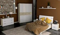 Спальня Верона глянец белый Миро-Марк