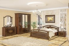 Спальня Алабама 4Д Мебель Сервис