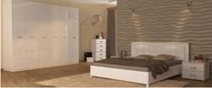 Спальня Белла глянец белый Миро-Марк