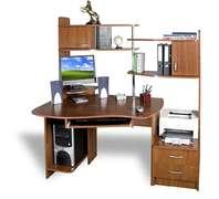 Прямой компьютерный стол СПТ-1 Меламин