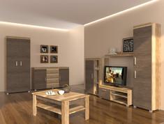 Модульная гостиная Teano Blonski