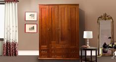 Шкаф четырехдверный (филенка) Елисеевская мебель