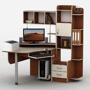 Компьютерный стол Тиса-3 ПВХ