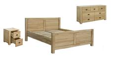 Модульная спальня из натурального дерева Троя Мебель Сервис
