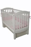 Детская колыбельная кроватка Соня ЛД-10 Верес 60*120