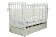Детская колыбельная кроватка Соня ЛД-12 Верес 60*120