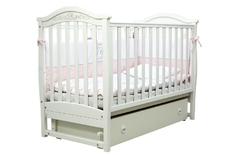Детская колыбельная кроватка Соня ЛД-3 Верес 60*120