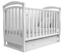 Детская колыбельная кроватка Соня ЛД-6 Верес 60*120