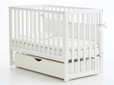 Детская колыбельная кроватка Соня ЛД-13 Верес 60*120