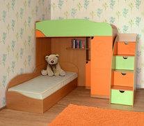 Модульная детская комната из ДСП Винни 3 Летро