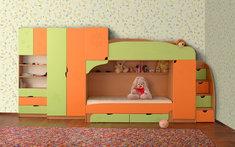 Модульная детская комната из ДСП Винни 1 Летро